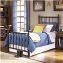 Legacy Classic Kids Dawson's Ridge Twin Off-Black Metal Bed - Item Number: 490-5003