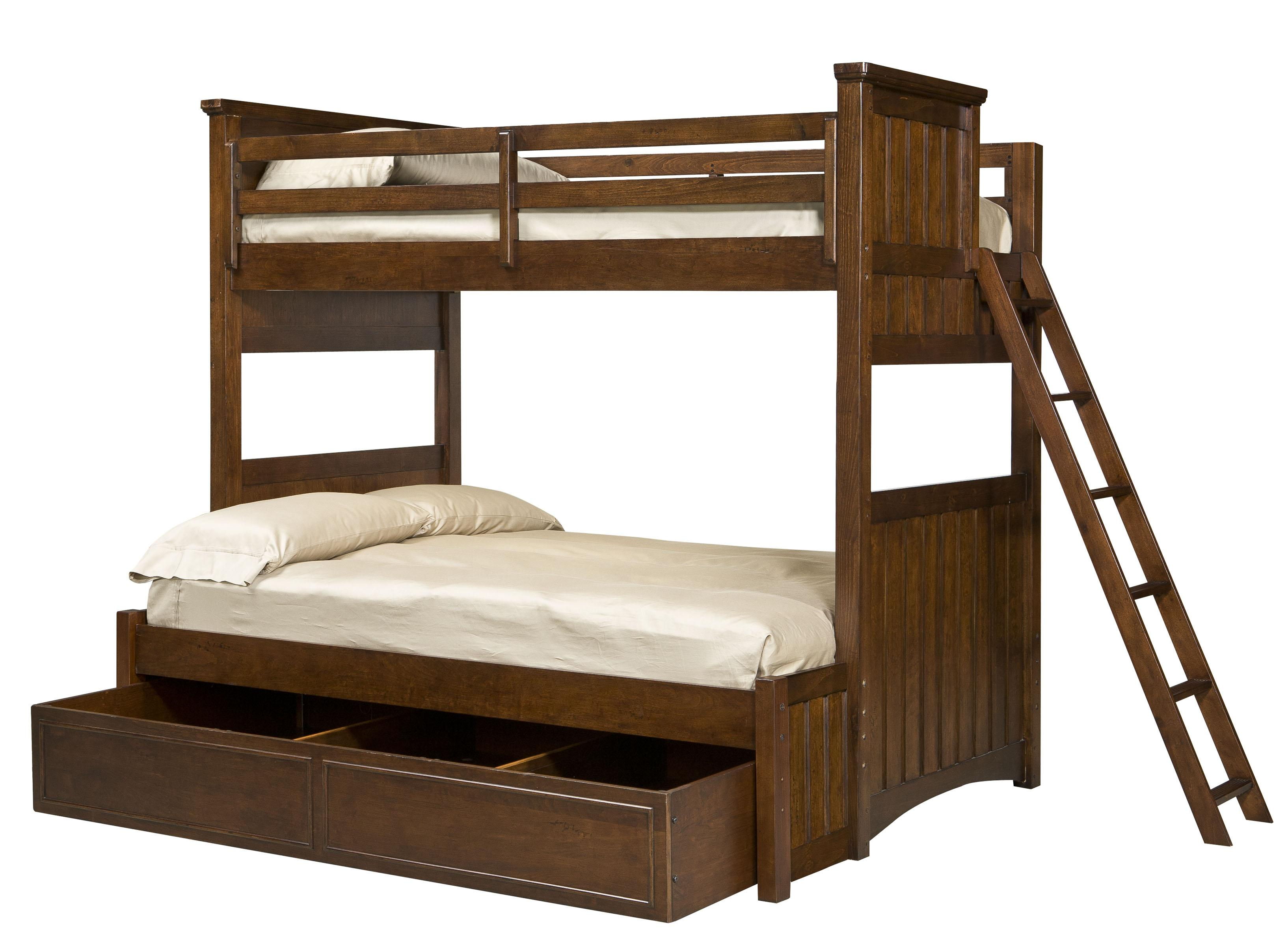 Legacy Classic Kids Dawsons Ridge Twin-over-Full Bunk w/ Trundle - Item Number: Twin-Over-FullBunk+9500