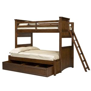 Legacy Classic Kids Dawsons Ridge Twin-over-Full Bunk w/ Trundle