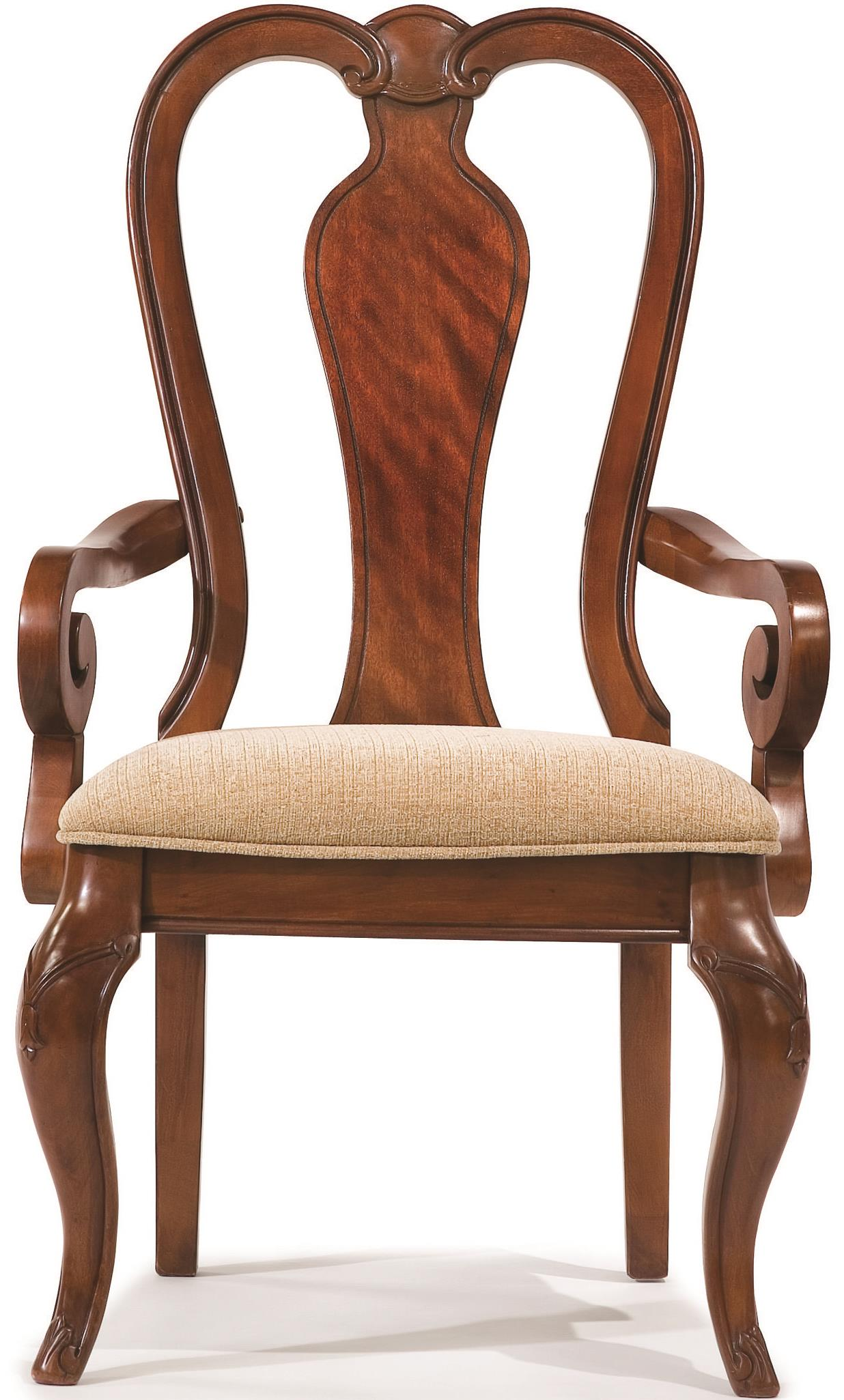 Legacy Classic Eternity Queen Anne Arm Chair - Item Number: 9180-141 KD