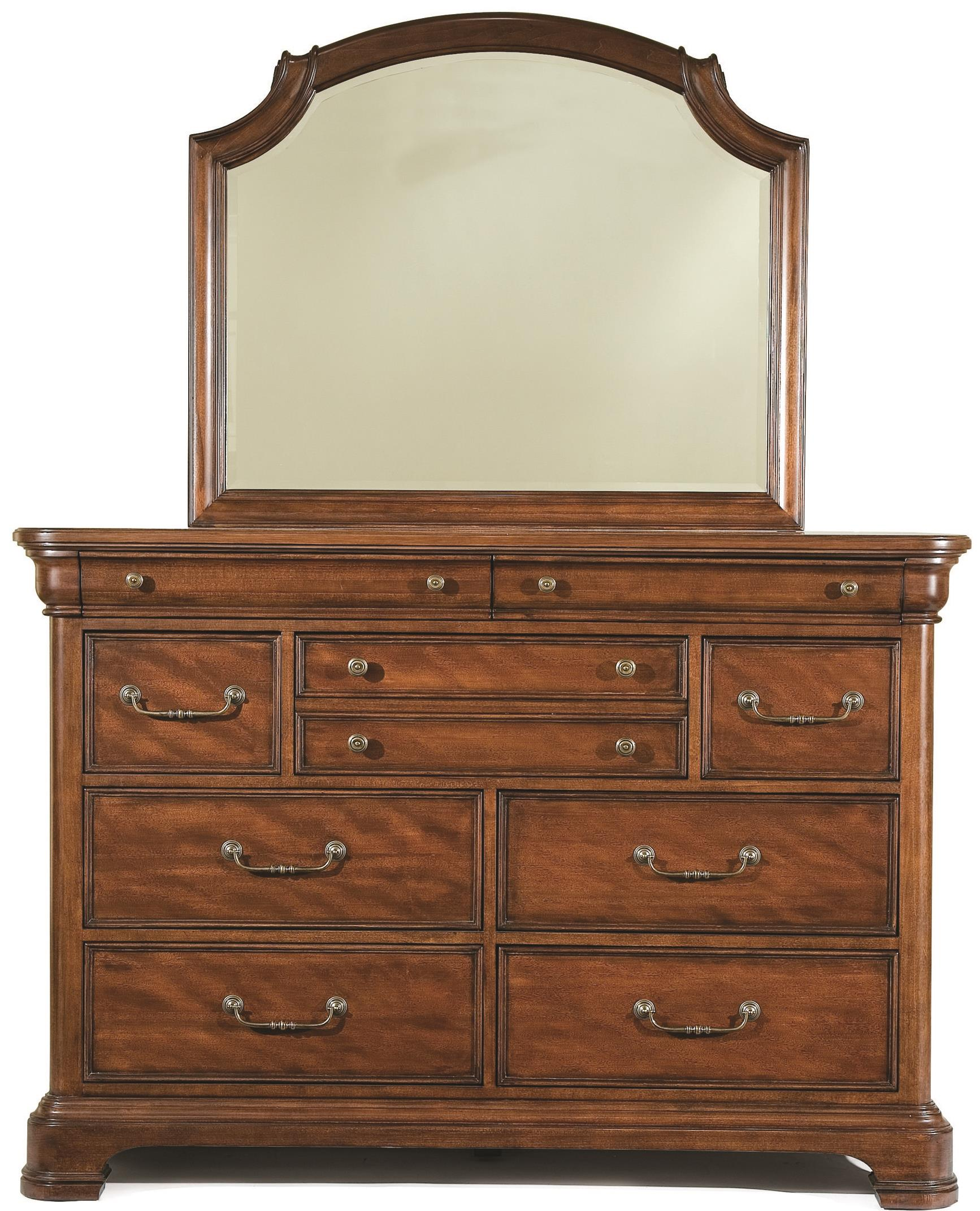 Legacy Classic Evolution Bureau with Mirror - Item Number: 9180-1500+0300
