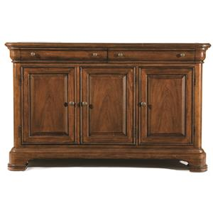 Legacy Classic Eternity Credenza with Marble Top