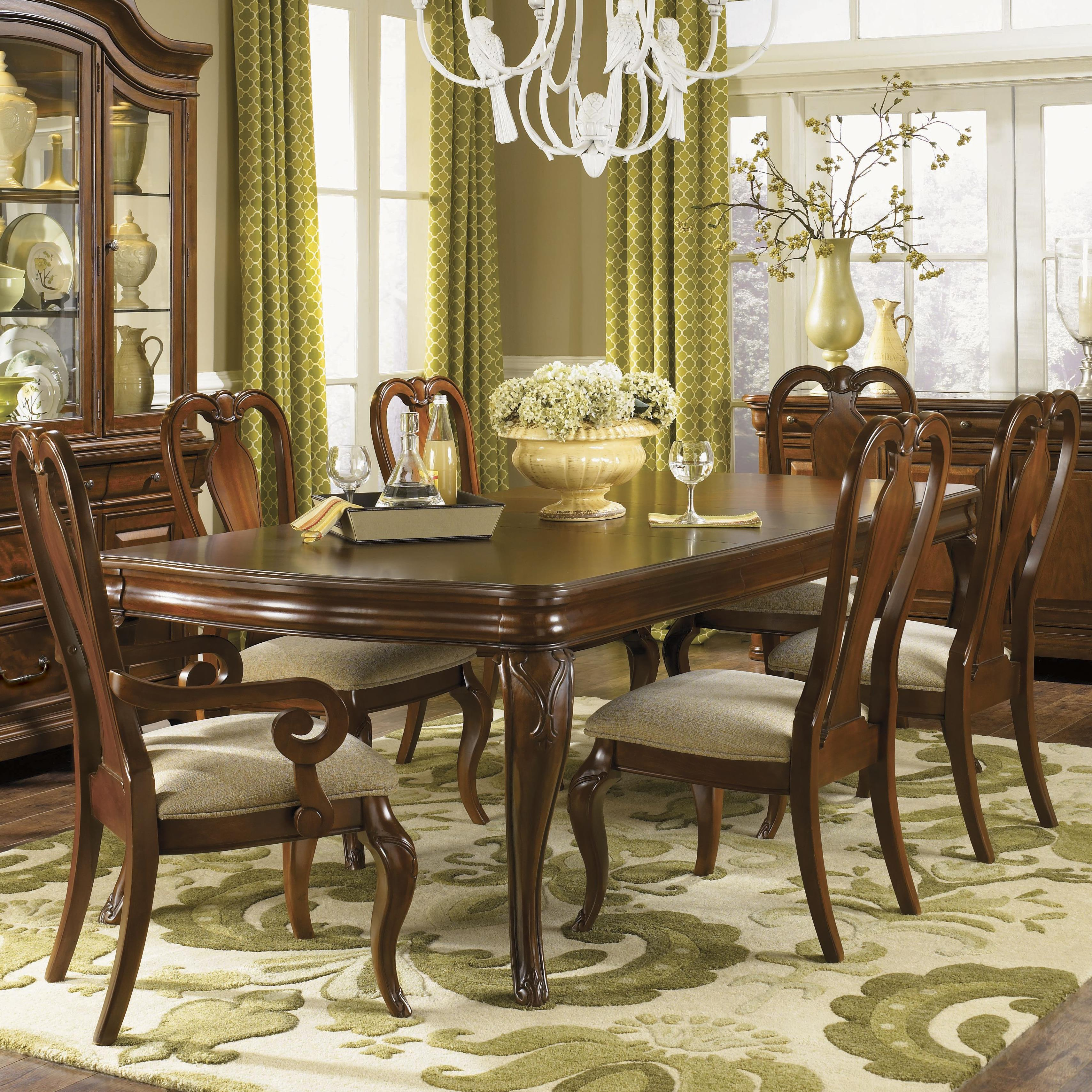 Legacy Classic Evolution Seven Piece Dining Set - Item Number: 9180-222+4x140KD+2x141KD