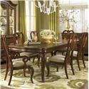 Legacy Classic Evolution Seven Piece Dining Set with Queen Anne Chairs - 9180-222+4x140KD+2x141KD