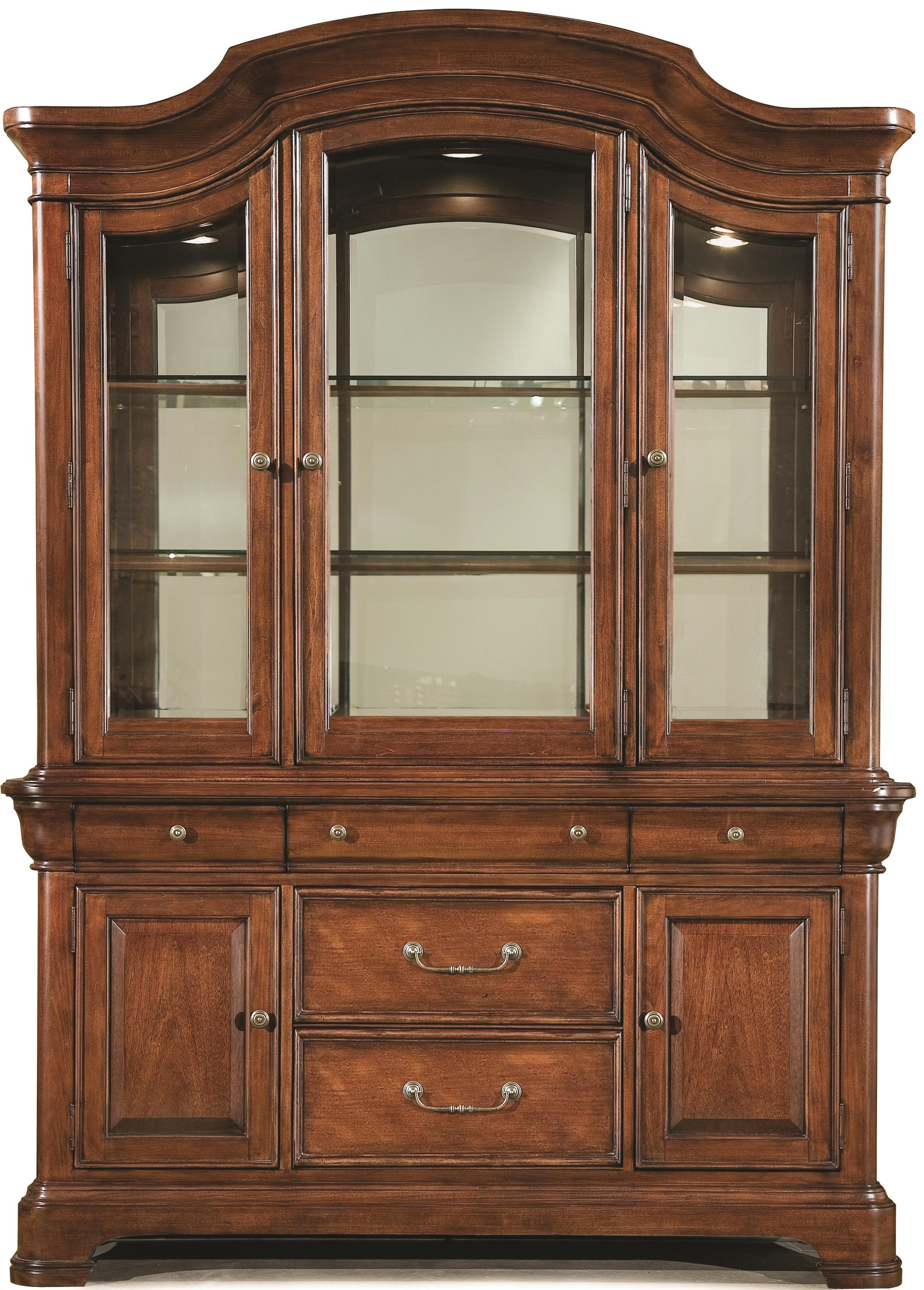 Legacy Classic Evolution China Cabinet - Item Number: 9180-370+372