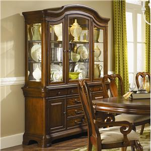 Evolution Five Drawer China Cabinet by Legacy Classic
