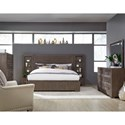 Legacy Classic Facets Queen Bedroom Group - Item Number: 9760 Q Bedroom Group 2
