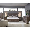 Legacy Classic Facets Queen Bedroom Group - Item Number: 9760 Q Bedroom Group 3