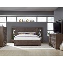 Legacy Classic Facets Queen Bedroom Group - Item Number: 9760 Q Bedroom Group 4