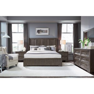 Facets King Bedroom Group by Legacy Classic