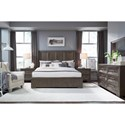 Legacy Classic Facets King Bedroom Group - Item Number: 9760 K Bedroom Group 5
