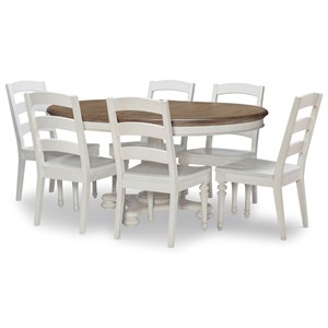 7-Piece Round Table and Chair Set
