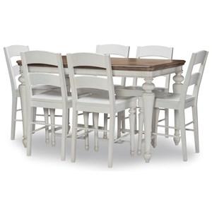 7-Piece Pub Table Set
