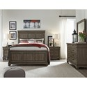 Legacy Classic Hartland Hills Queen Bedroom Group - Item Number: 7460 Q Bedroom Group
