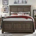 Legacy Classic Hartland Hills Transitional Queen Panel Bed