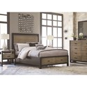 Legacy Classic Helix Queen Complete Panel Bed with Storage Footboard