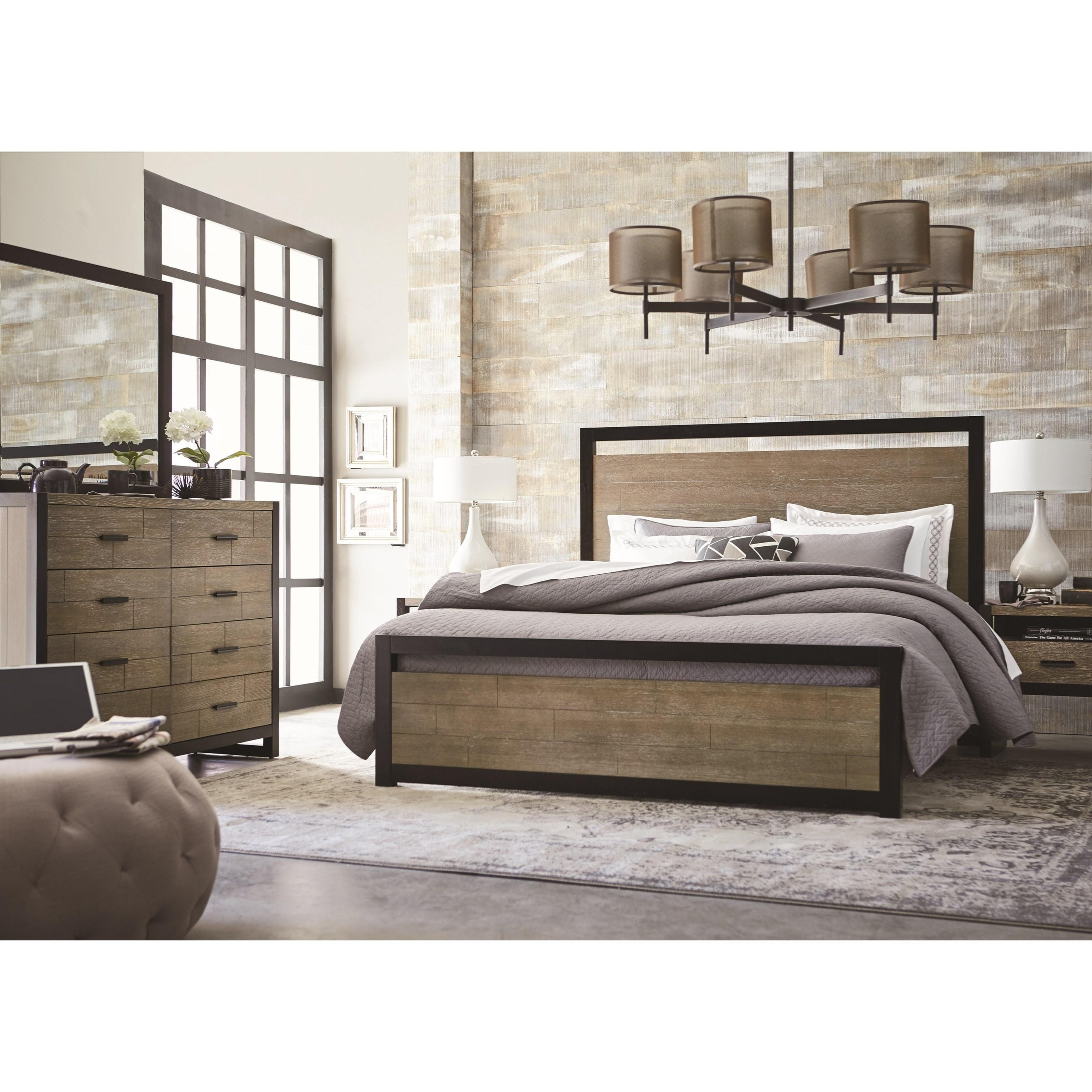 Legacy Classic Helix California King Complete Panel Bed Jacksonville Furniture Mart
