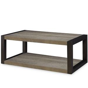Legacy Classic Helix Rectangular Cocktail Table