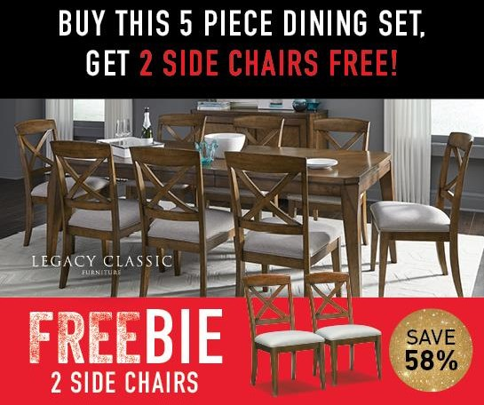 Hamilton Hamilton Dining Set with FREEBIE! by Legacy Classic at Morris Home