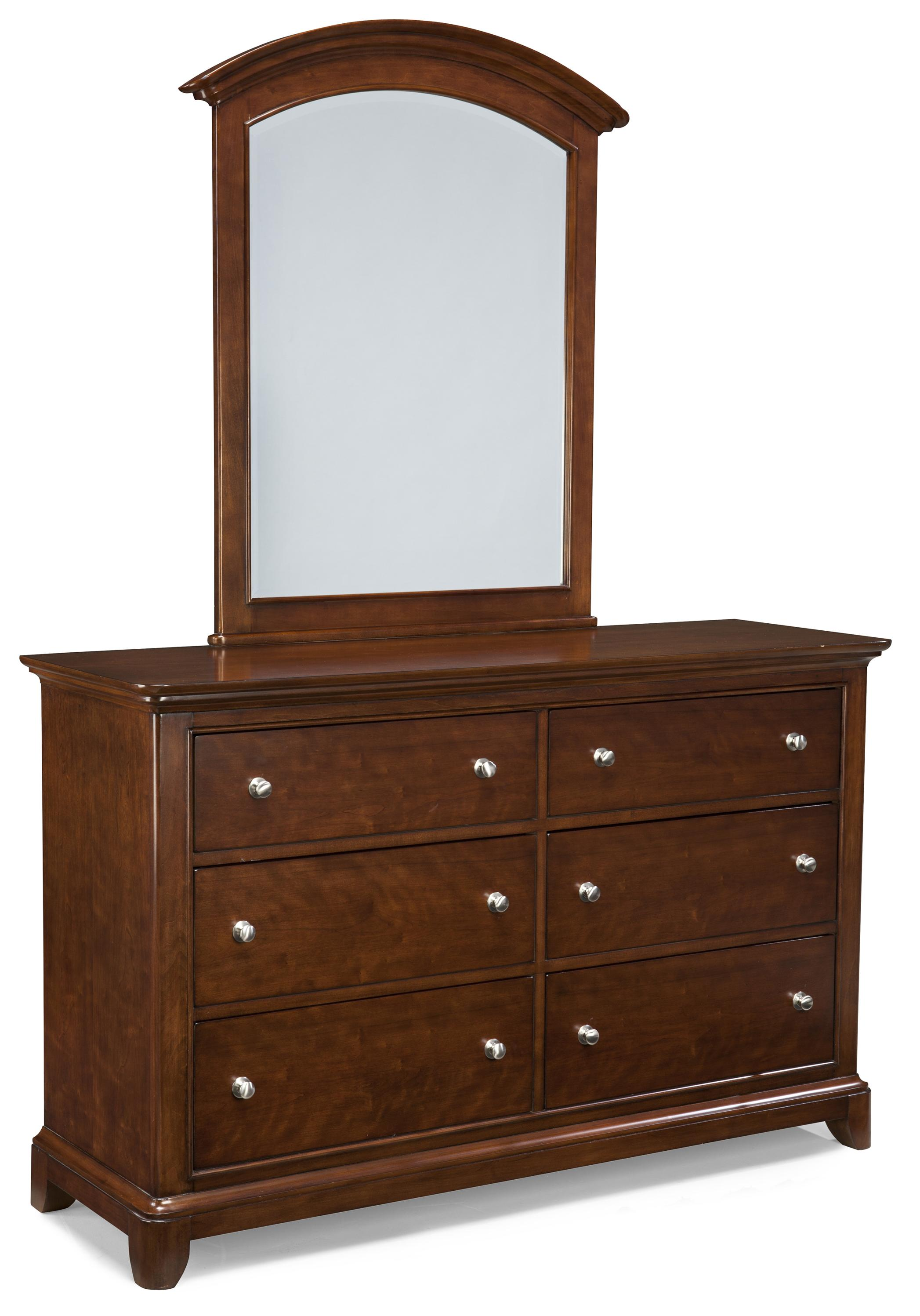 Legacy Classic Kids Impressions Dresser and Mirror Set - Item Number: 2880-1100+0100