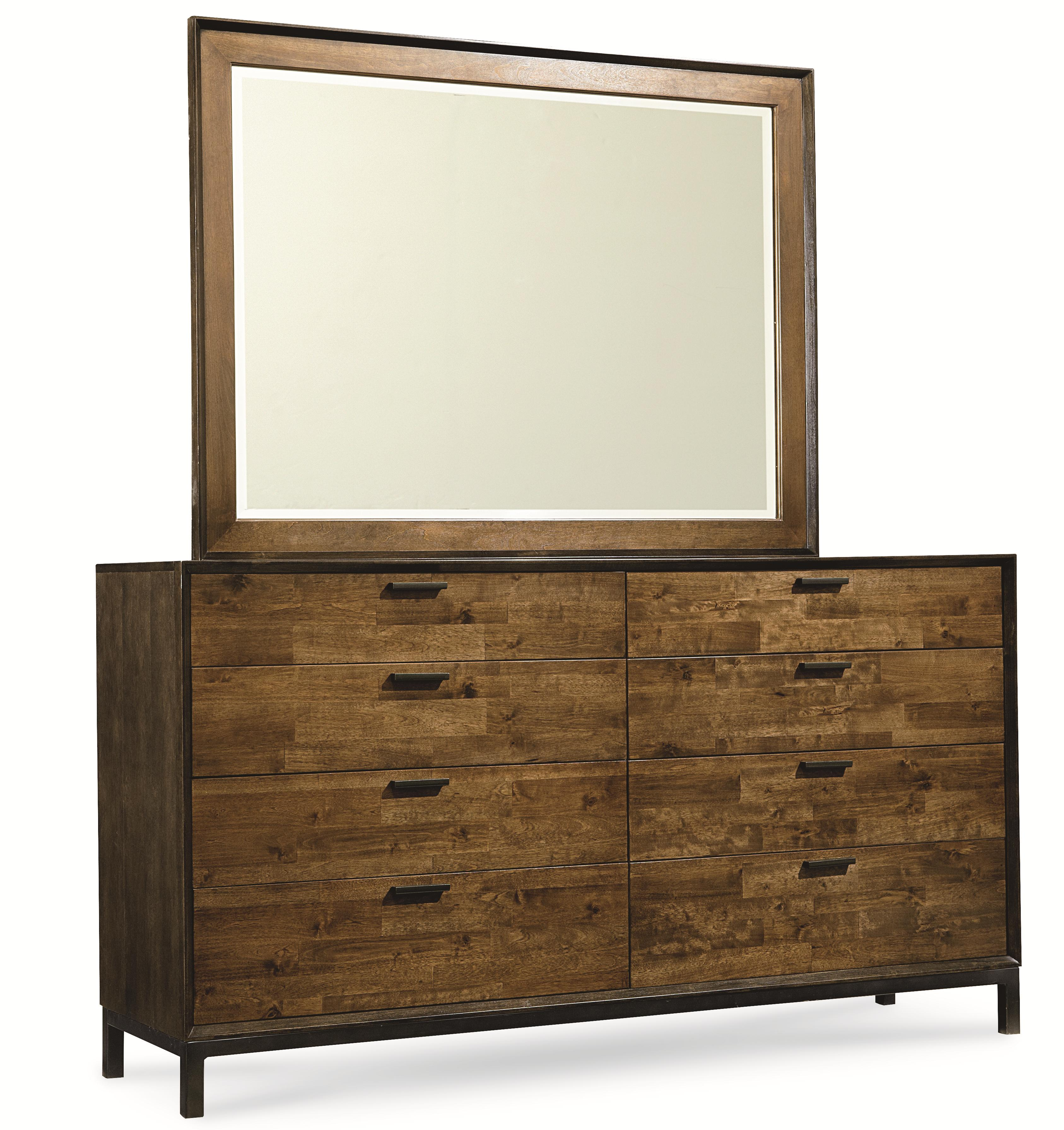 Legacy Classic Kateri Dresser and Mirror Combo - Item Number: 3600-1200+0400