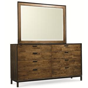 Legacy Classic Kateri Dresser and Mirror Combo