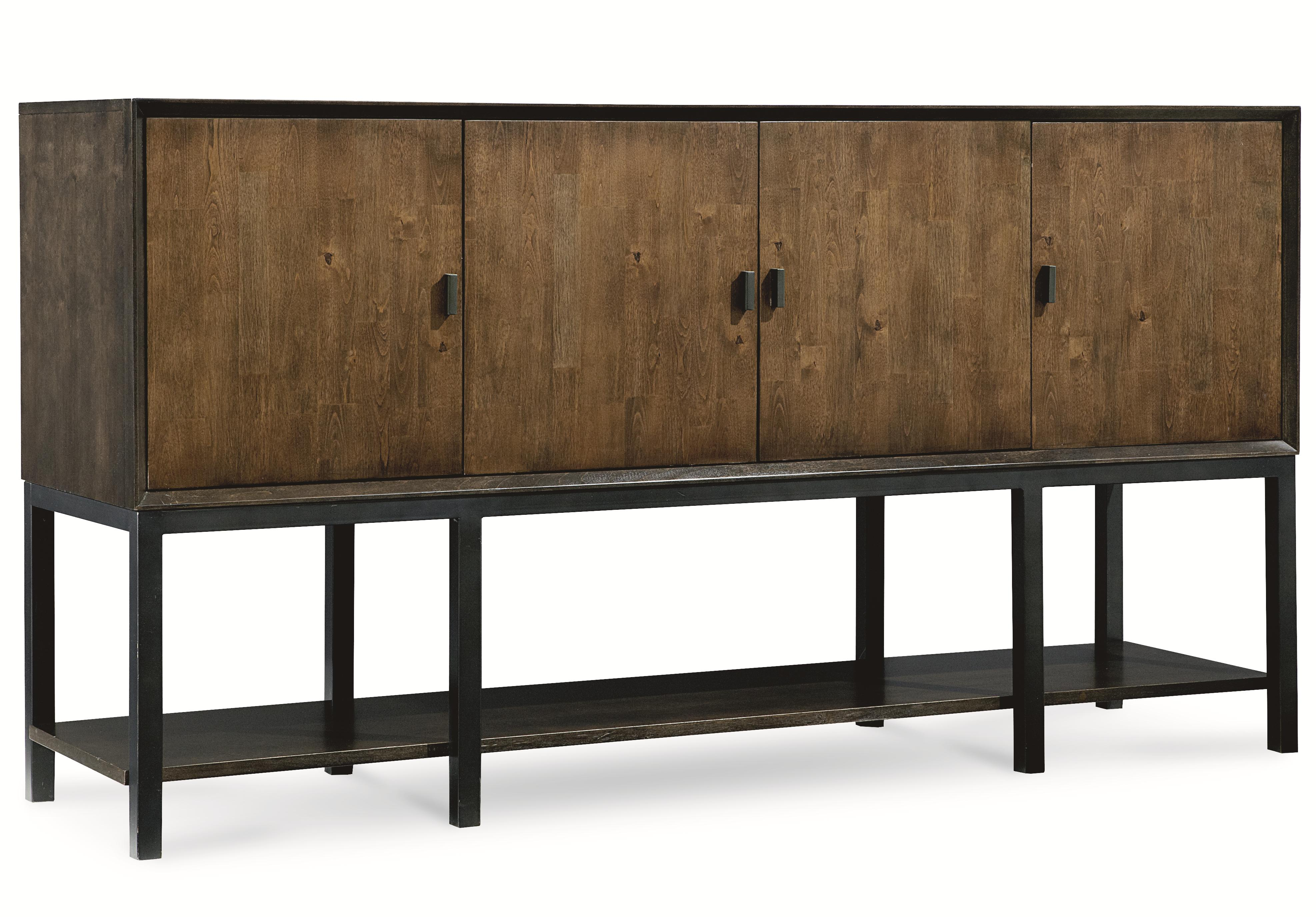 modern buffet table history brass gold sideboard concave grey