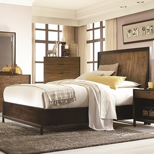 Legacy Classic Kateri Cal. King Panel Bed w/ Storage