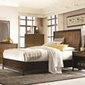 Legacy Classic Kateri Complete Curved Panel Queen Bed with Storage - 3600-4125K - Bed Shown May Not Represent Size Indicated