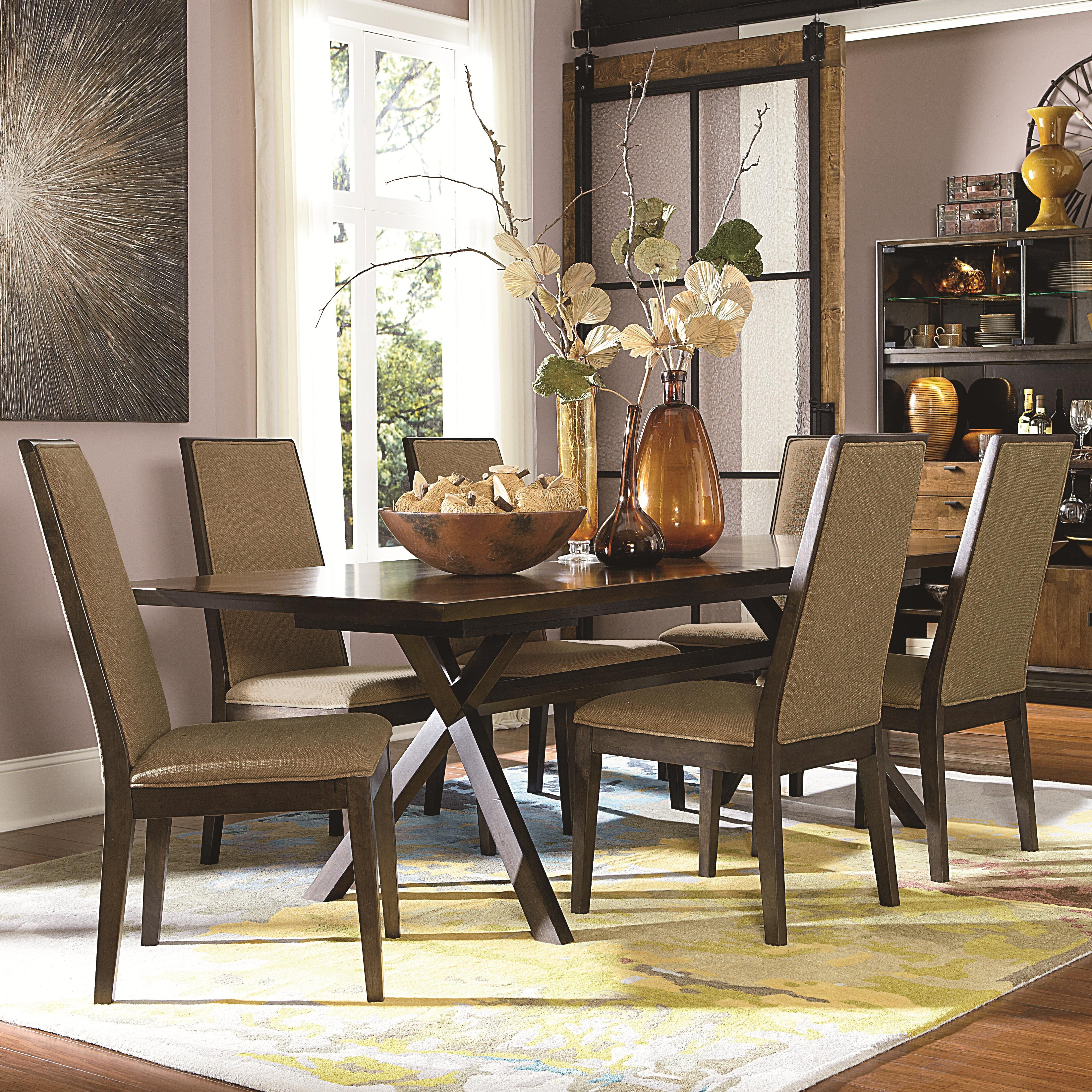 Legacy Classic Kateri 7 Piece Dining Set - Item Number: 3600-622+6x340 KD