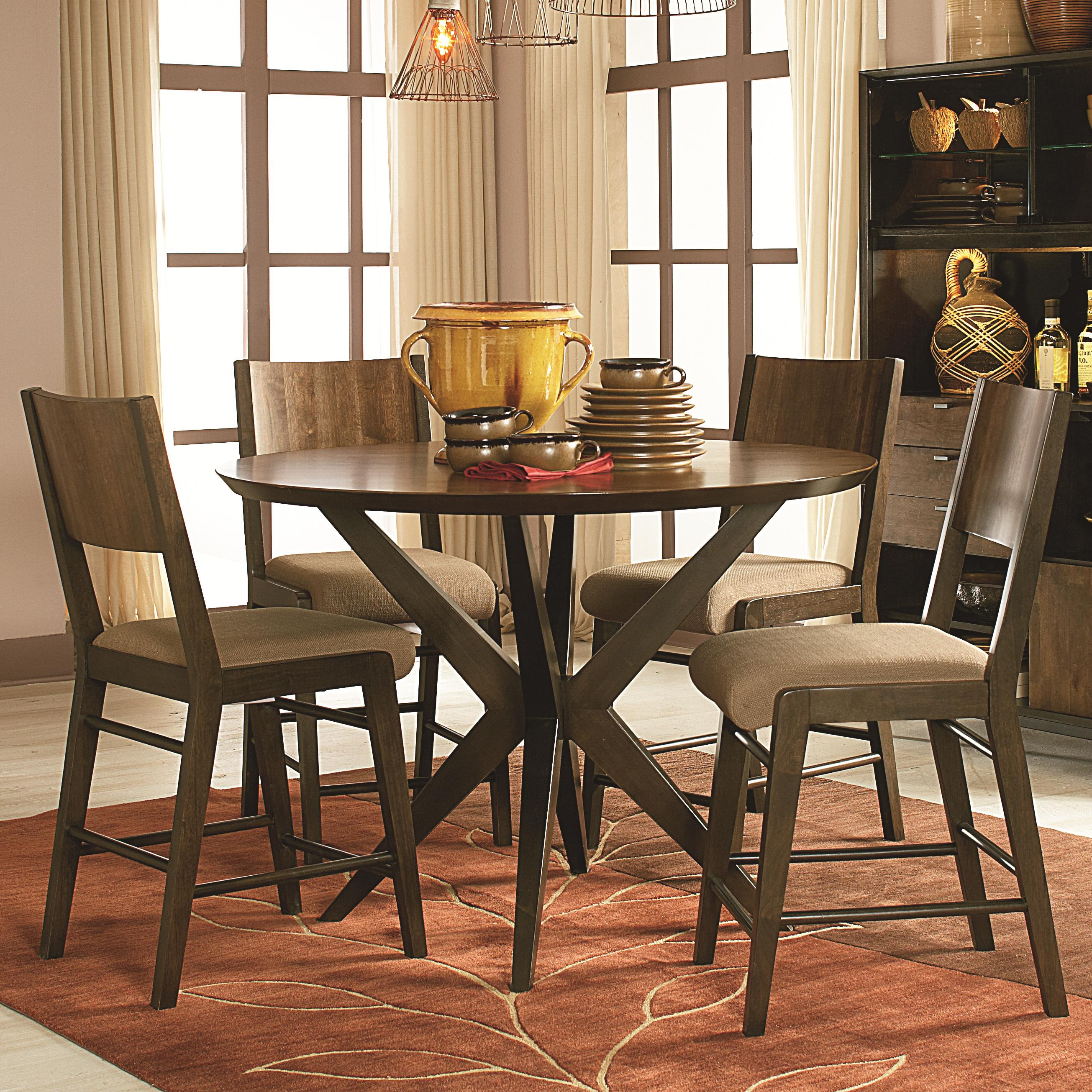 Kateri 5 Piece Pub Table And Pub Chairs Set By Legacy Classic