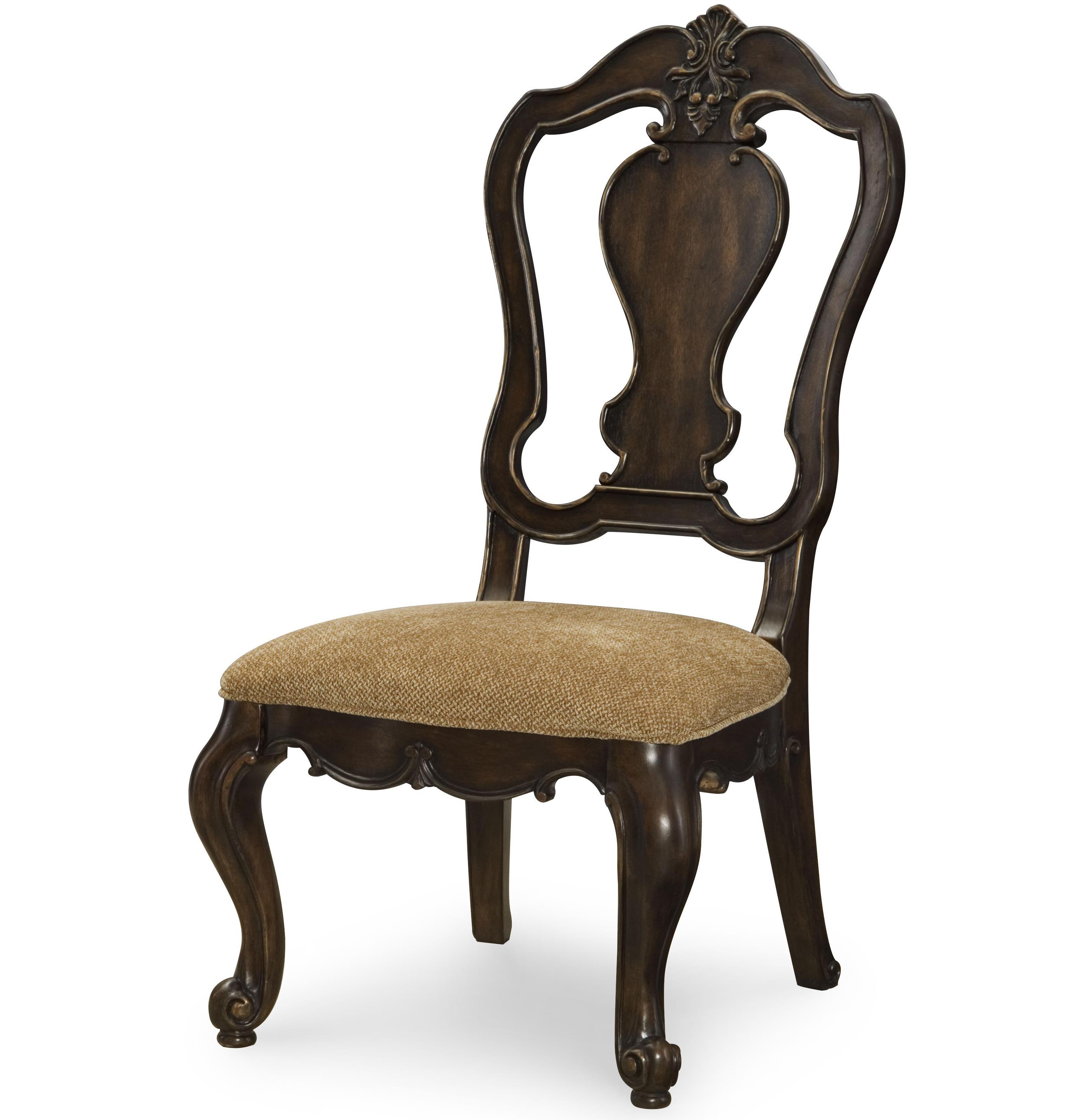 Legacy Classic La Bella Vita Splat Back Side Chair - Item Number: 4200-240 KD