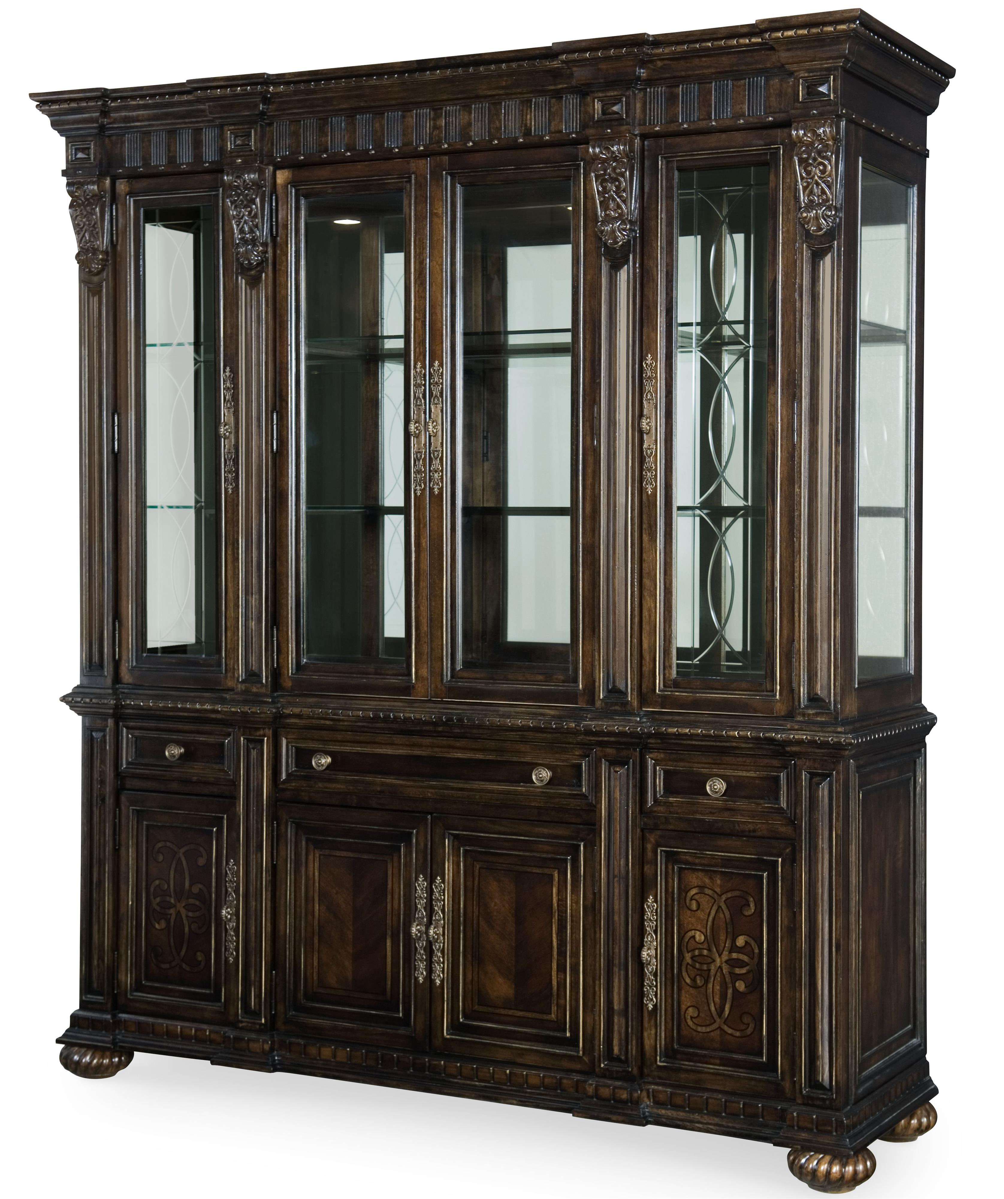 Legacy Classic La Bella Vita China Cabinet - Item Number: 4200-370+372