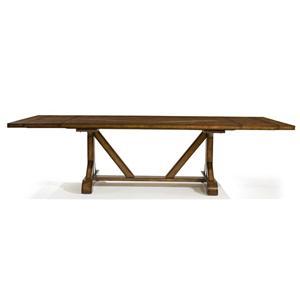 Legacy Classic Larkspur Rectangular Trestle Table