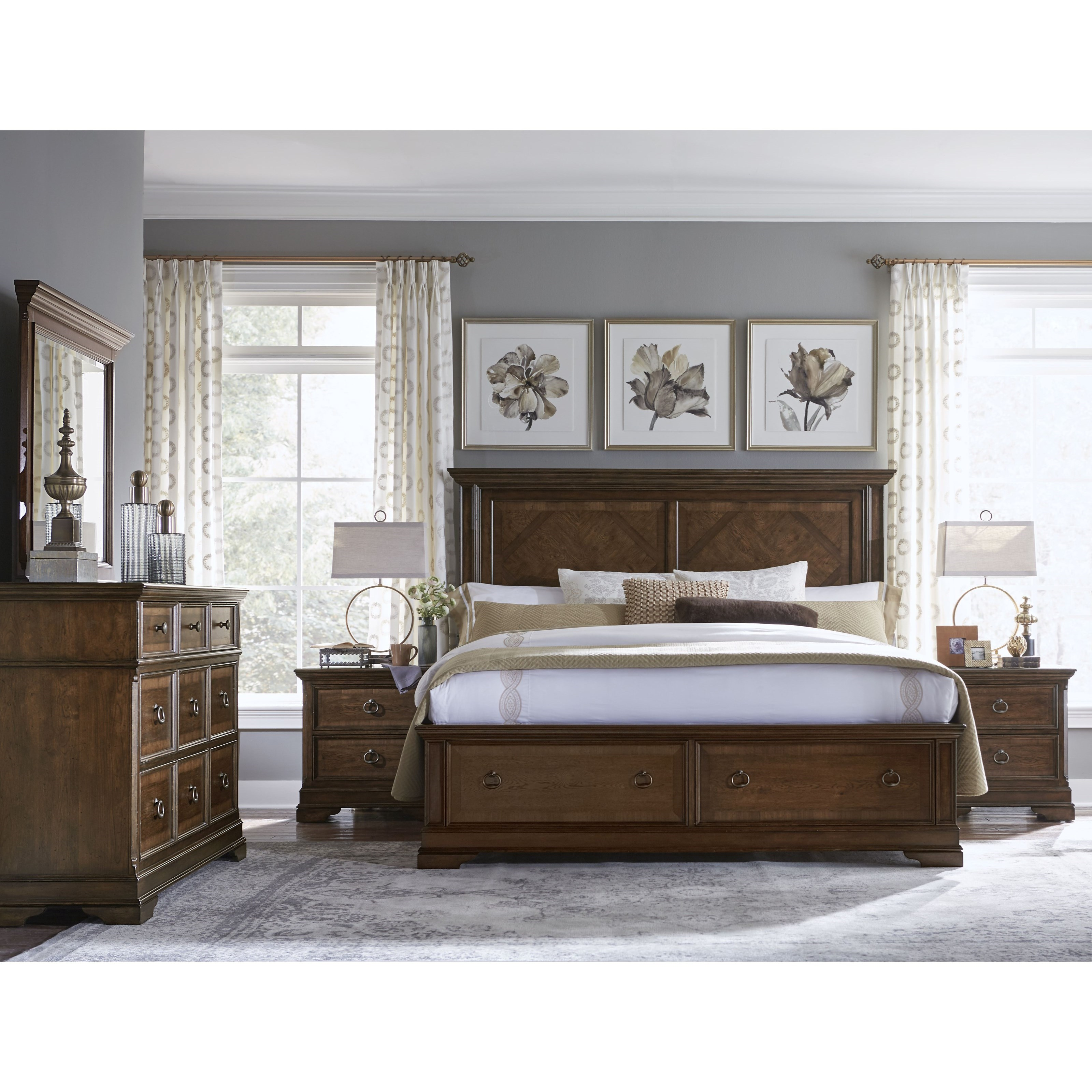 Legacy Classic Latham King Bedroom Group Belfort Furniture Bedroom Groups