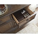 Legacy Classic Latham Credenza with Wine Storage