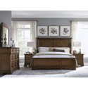 Legacy Classic Latham King Panel Bed with Storage Footboard