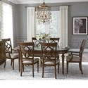 Legacy Classic Latham 7 Piece Dining Set - Item Number: 6070-521+2x141+4x140
