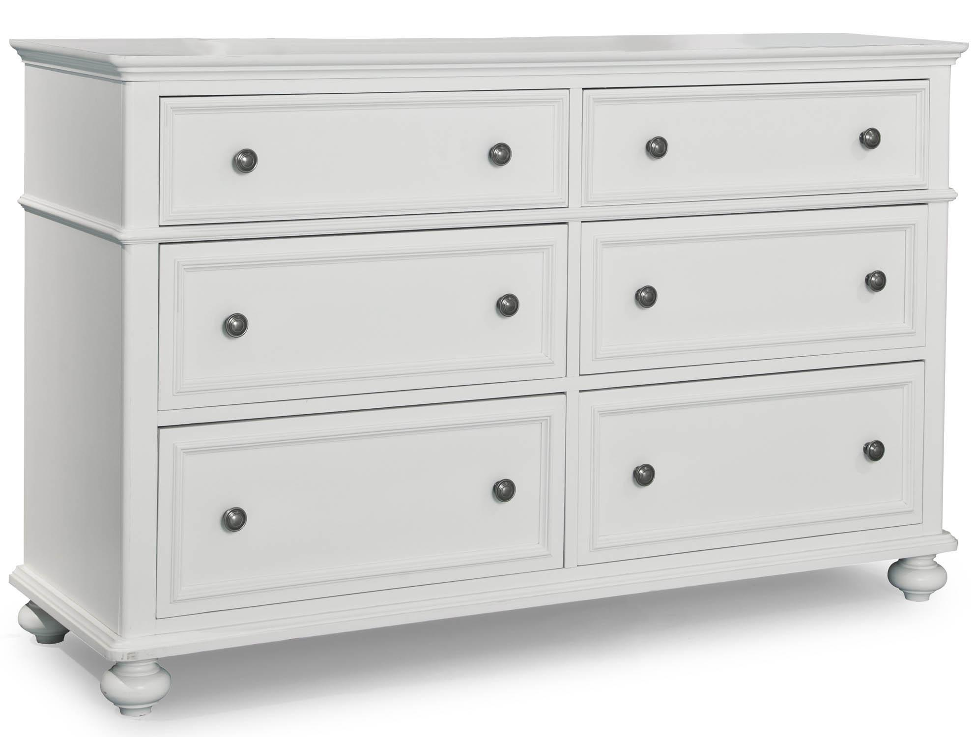 white kids dresser. Legacy Classic Kids Madison Dresser With 6 Drawers - Item Number: 2830-1100 White R