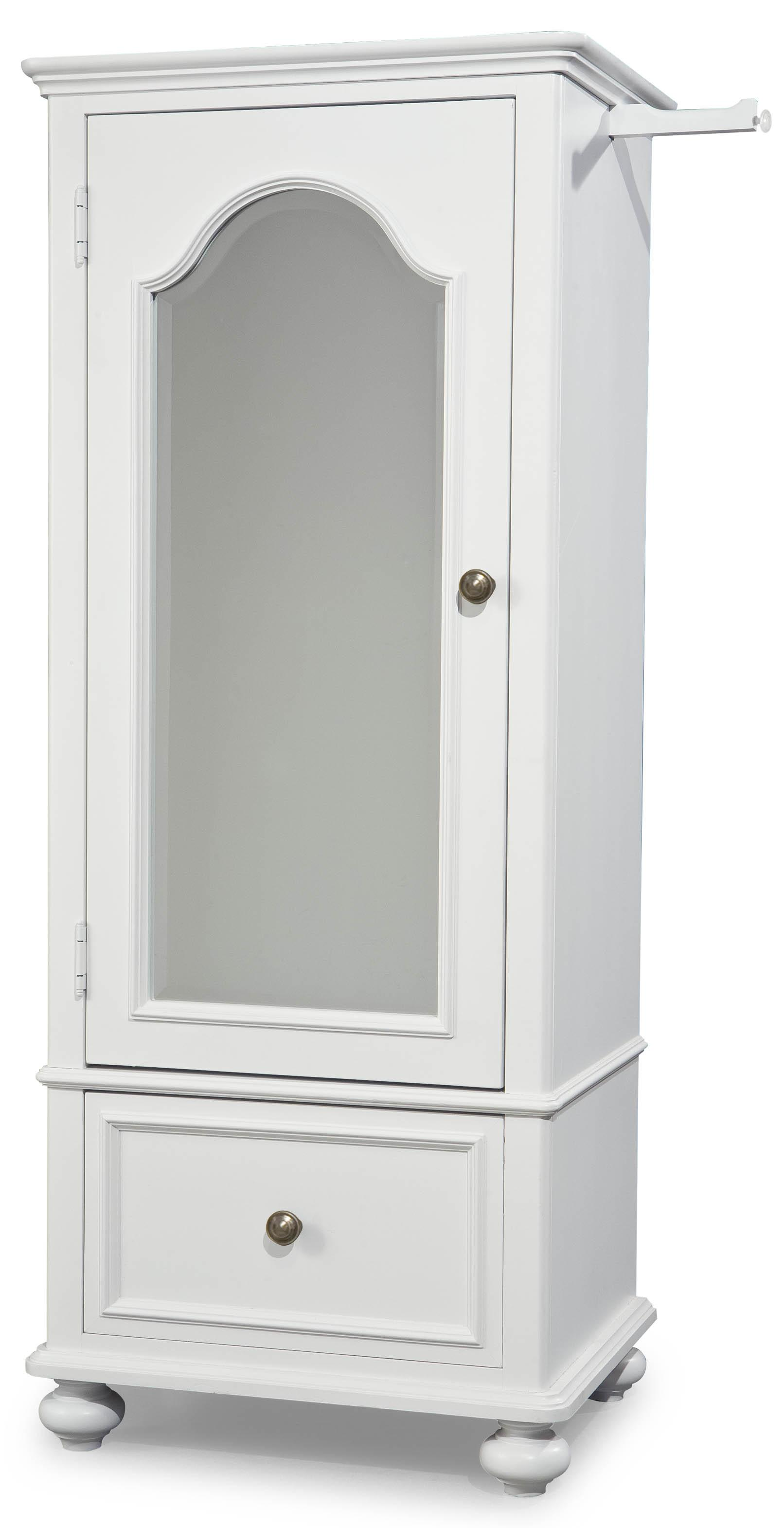Elegant Legacy Classic Kids Madison Wardrobe With Mirrored Door   Item Number:  2830 2300