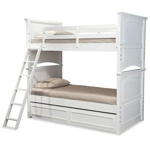 Legacy Classic Kids Madison Complete Twin over Full Bunk Bed w/ Trundle