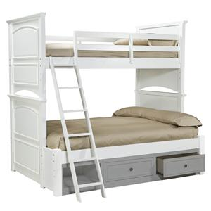 Legacy Classic Kids Madison Complete Twin over Full Bunk Bed