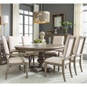 Legacy Classic Manor House 7 Pc Dining Set - Item Number: 8200-521K+2X8200-341+4X8200-340