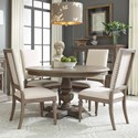 Legacy Classic Manor House 5 Pc Dining Set - Item Number: 8200-521K+4X8200-340