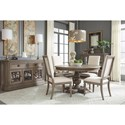 Legacy Classic Manor House Relaxed Vintage Five Piece Dining Set