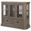 Legacy Classic Manor House Display Cabinet - Item Number: 8200-570