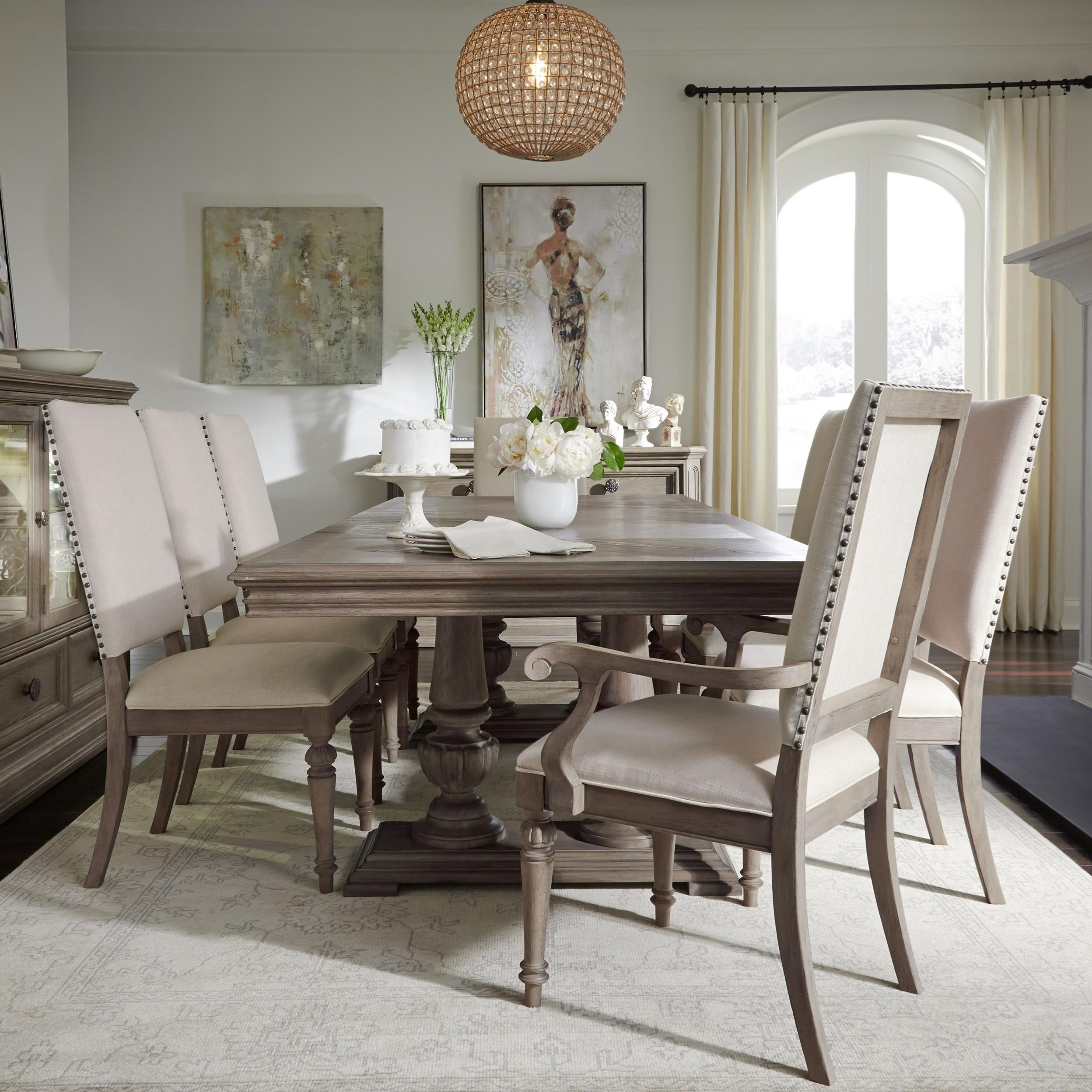 Legacy Classic Manor House 9 Pc Dining Set   Item Number: 8200 621K+