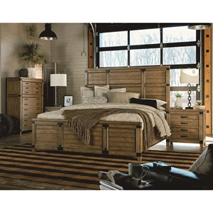 Legacy Classic Metalworks Queen Bedroom Group