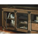 Legacy Classic Metalworks Entertainment Console with Cord Access