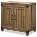 Legacy Classic Metalworks Bar Cabinet  - Item Number: 5610-155